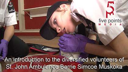 St. John Ambulance Promo video