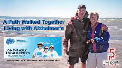 A Path Walked Together, Living with Alzheimer's
