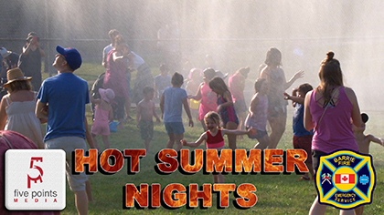 Hot Summer Nights at Shear Park by the Barrie Fire and Emergency Services, 2019