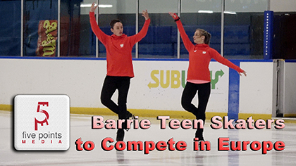 Barrie Teens Skaters to Compete in Poland, 2019