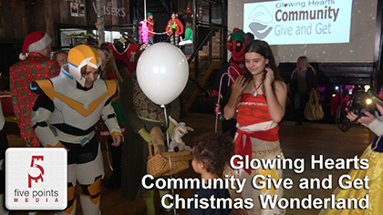 Glowing Hearts Community Give and Get Christmas Wonderland, 2019