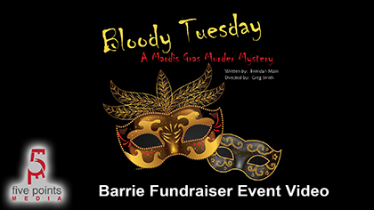 Bloody Tuesday, A Mardis Gras Murder Mystery Event, In support of 'We Are The Villagers'